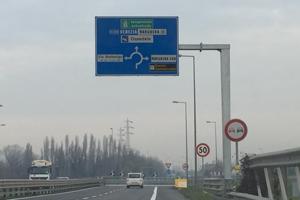 Portali segnaletici strade autostrade - Premetal