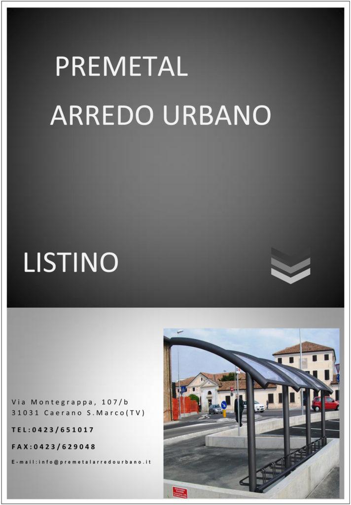 Catalogo Premetal Prodotti per l'arredo urbano - Caerano San Marco (Treviso)