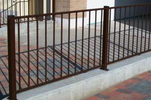 recinzione modello ovale