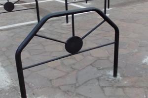 transenna parapedonale modello Trento